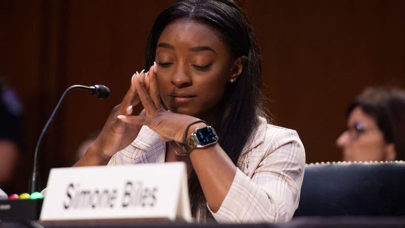 """Simone Biles, ante el Senado de EEUU: """"Culpo al sistema que permitió los abusos de Larry Nassar"""""""