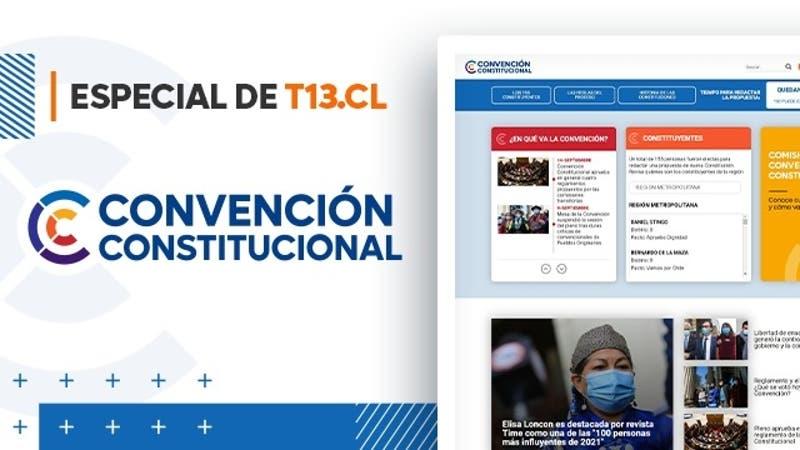 Convención Constitucional: sigue el especial de T13.cl