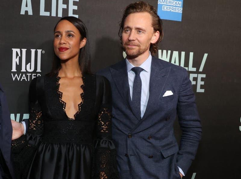 Tom Hiddleston con la que sería su nueva pareja: Zawe Ashton