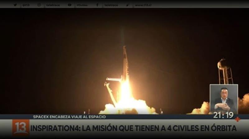 [VIDEO] Inspiration4: La misión que tiene a 4 civiles en órbita
