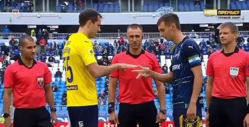 Árbitro de liga rusa olvidó moneda y pidió a capitanes que definiera quién parte con un cachipún