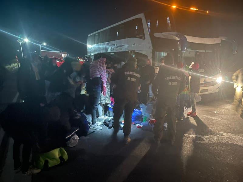 Carabineros detuvo a sujeto que iba en dirección a Iquique por tráfico de inmigrantes