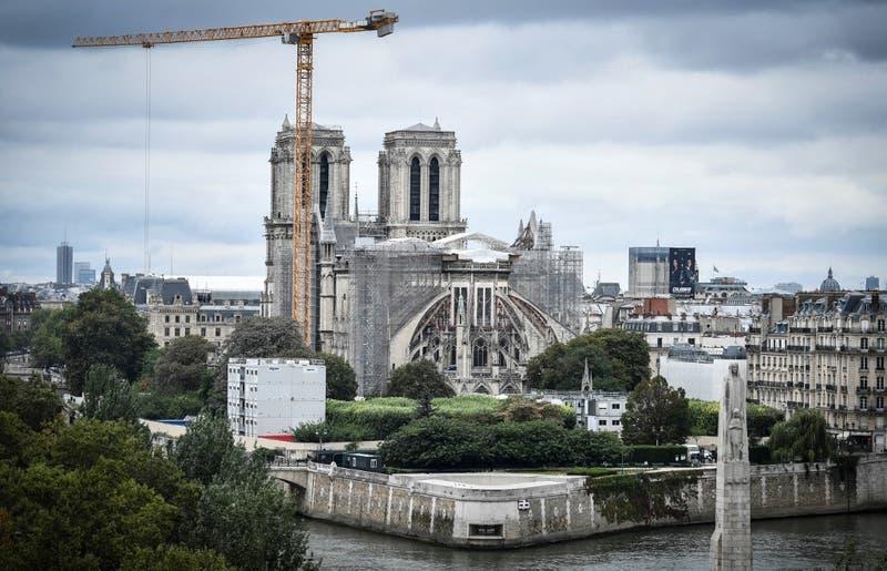 Concluyen los trabajos de consolidación de Notre Dame de París