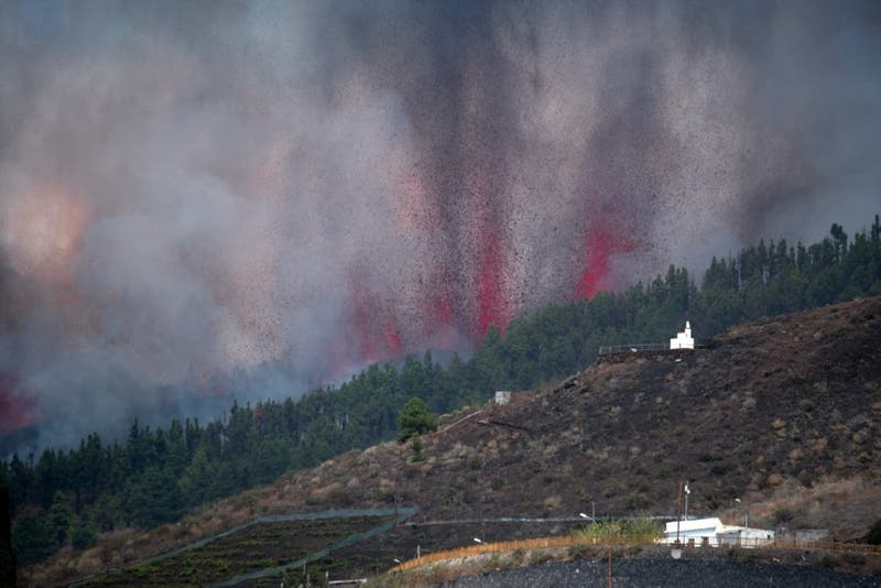 [VIDEO] Los impactantes registros del volcán Cumbre Vieja en España
