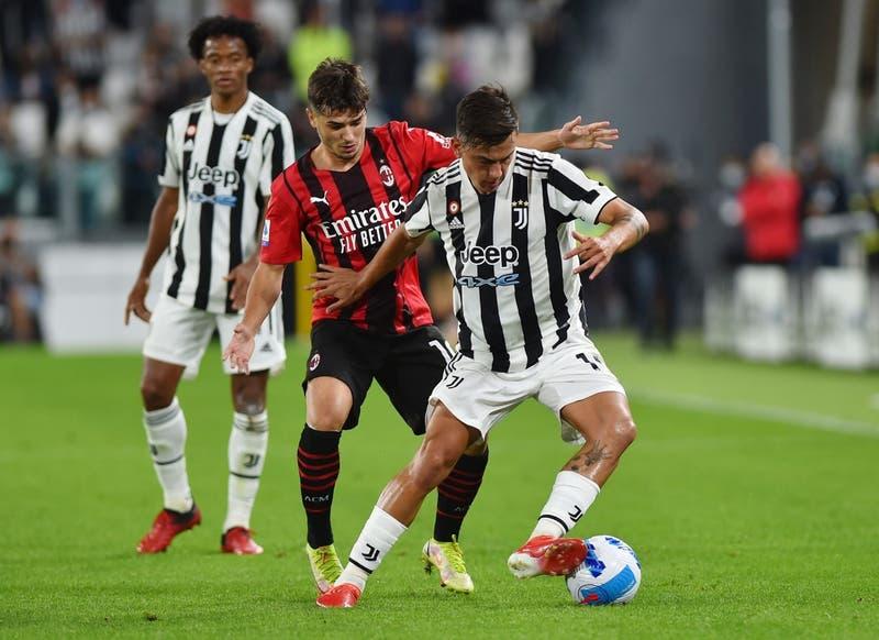 La Juventus no puede con el Milán y queda en puestos de descenso