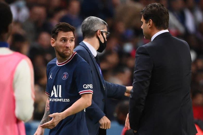 [VIDEO] El enojo de Messi tras ser sustituido en agónica victoria del PSG
