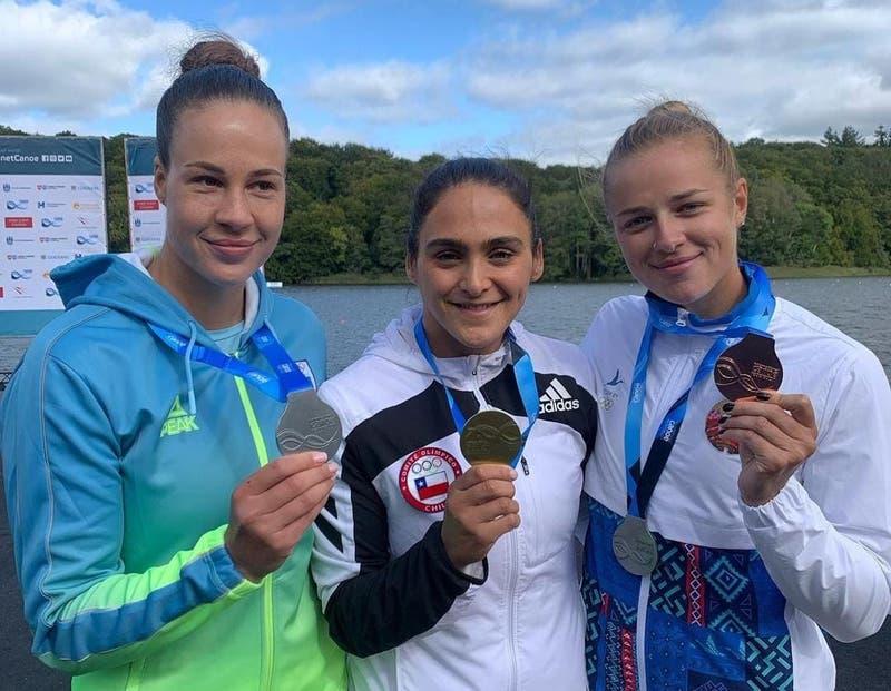 María José Mailliard se llevó un bronce en Mundial de Canotaje en Dinamarca