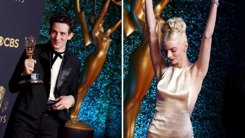 """Netflix arrasa en los Emmy 2021 con """"The Crown"""" y """"The Queen's Gambit"""""""