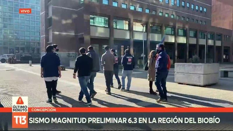 VIDEO: Sismo de magnitud 6,6 en Arauco, Biobío