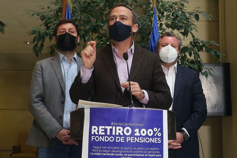 Diputado Alessandri reingresó proyecto de retiro del 100% de los fondos de AFP