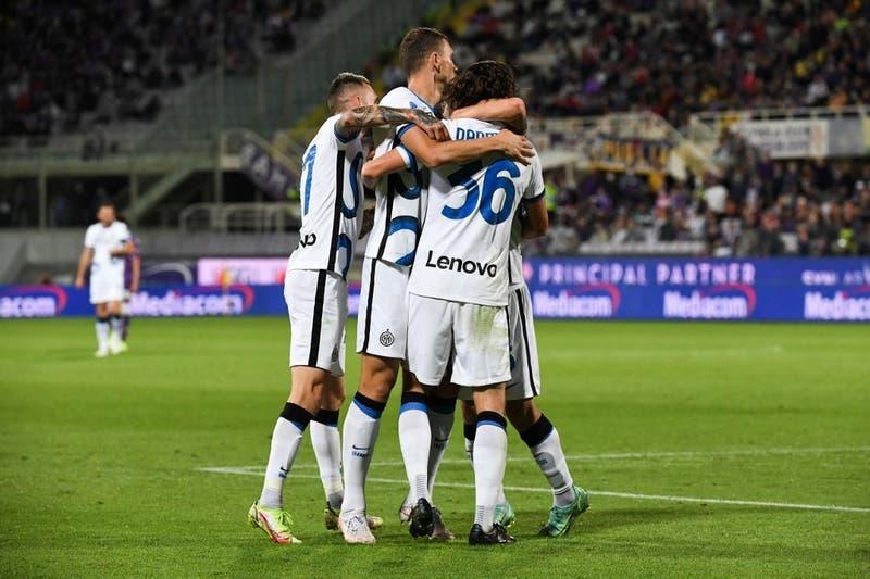 Inter vence a la Fiorentina con Alexis en cancha y queda como líder de la Serie A