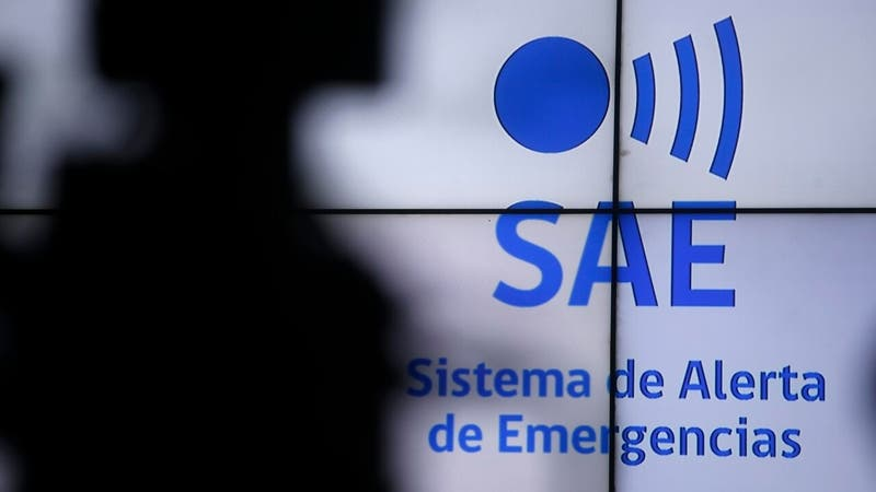 RM: Onemi realizará prueba masiva del Sistema de Alerta de Emergencias (SAE) este jueves