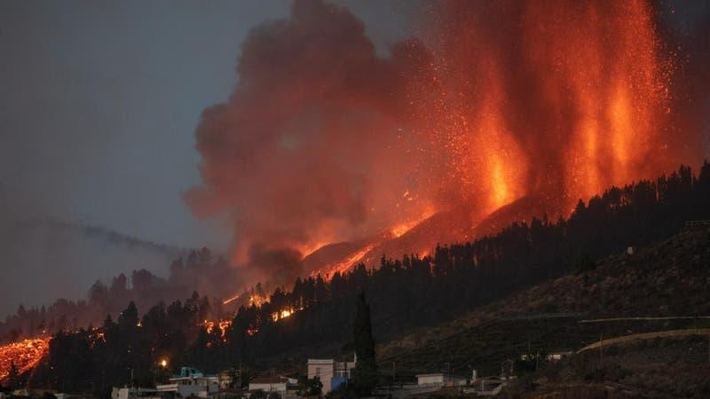 Drone revela impactantes imágenes que deja el devastador avance de la lava en La Palma