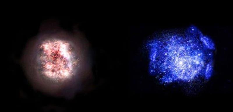 Astrónomos descubren dos galaxias que existieron poco antes del Big Bang