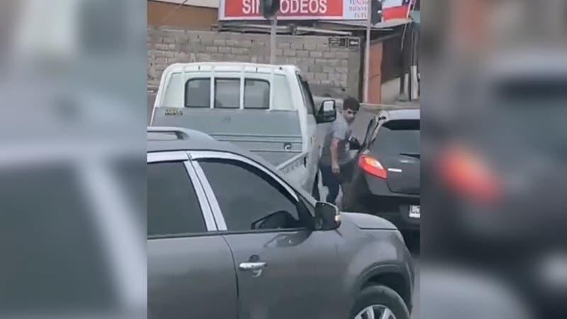 Conductor es aplastado por camión tres cuartos tras pelea en calle de Alto Hospicio