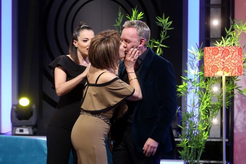 """Cristina Tocco y Yamila Reyna mostraron su amistad y llevaron su seducción a """"Los 5 Mandamientos"""""""