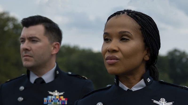 Fuerza Espacial de Estados Unidos muestra sus primeros uniformes