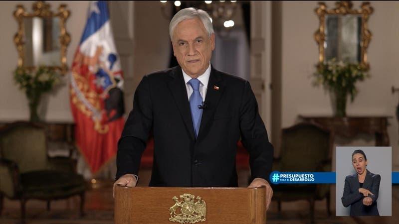 Piñera presenta un Presupuesto 2022 más austero respecto a 2021: Se centrará en la inversión