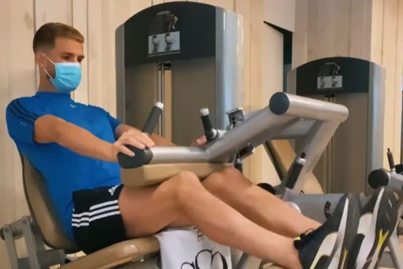 Venezolano Christian Santos termina su cuarentena y se realiza exámenes para sumarse a Colo Colo