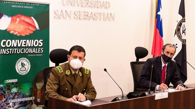 Universidad San Sebastián becará a hijos de mártires de Carabineros de Chile