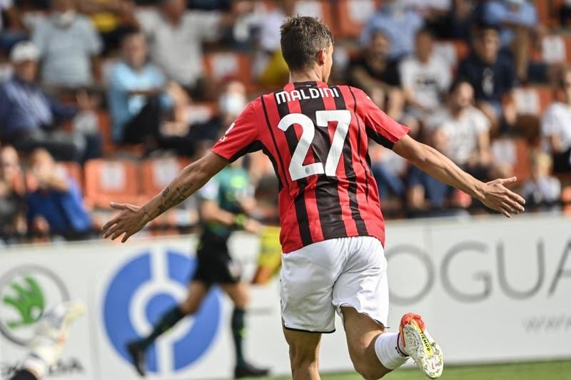 Sigue la dinastía: Hijo de Paolo Maldini anotó en triunfo del Milan, que es líder