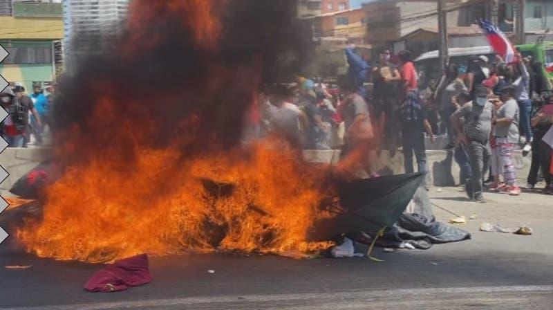 Iquique polarizado tras marcha contra los migrantes