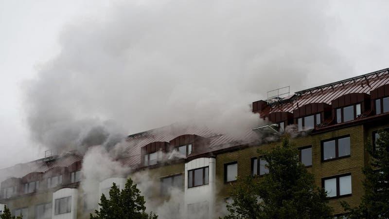 Explosión en edificio de Suecia deja 16 heridos: cuatro están en estado de gravedad