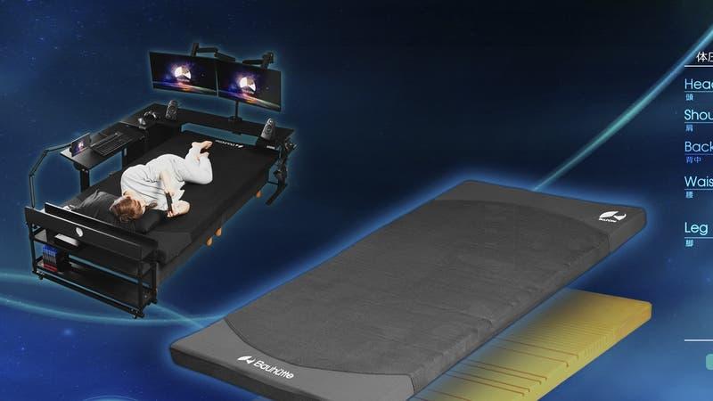 Japón: Ponen a la venta colchón diseñado especialmente para gamers