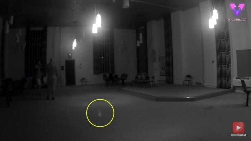 Filman un espeluznante avistamiento en la prisión más embrujada del Reino Unido