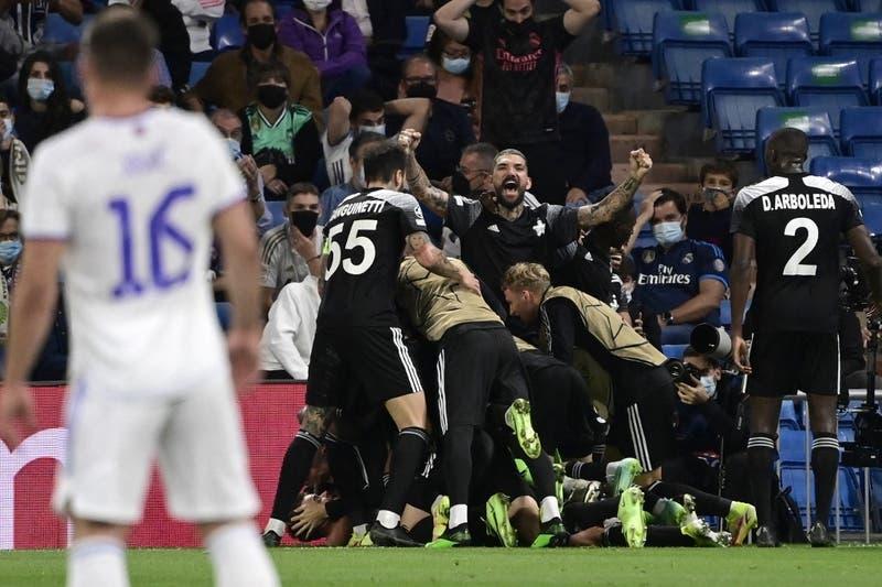 Sorpresa mundial: Sheriff Tiraspol da el golpe y vence al Real Madrid en el Santiago Bernabéu