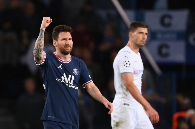 Messi marca su primer gol con el PSG en la victoria sobre el City de Guardiola por la Champions