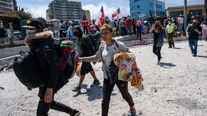 "Venezolanos afectados por quema de pertenencias: ""Nos sentimos humillados, tratados como animales"""