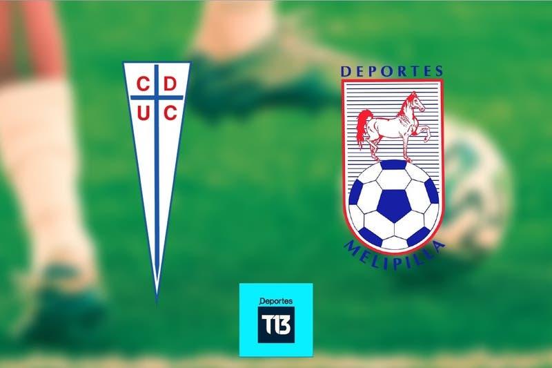 [Relato EN VIVO] Universidad Católica recibe a Deportes Melipilla en San Carlos