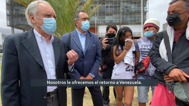 El intento fallido del embajador venezolano: Migrantes se negaron a regresar a Venezuela