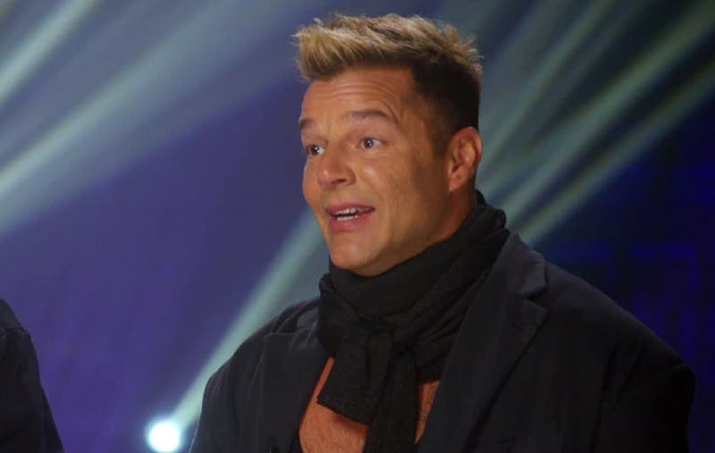"""La primera publicación de Ricky Martin tras los rumores de un """"excesivo"""" retoque facial"""