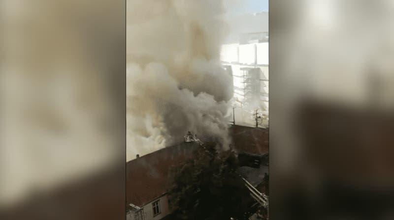 [VIDEO] Reportan incendio en el centro Puerto Montt