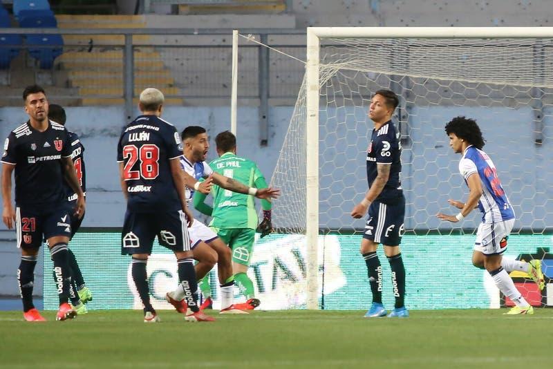 """La """"U"""" sufrió con las lesiones y solo empató ante Antofagasta pese a ir ganando"""