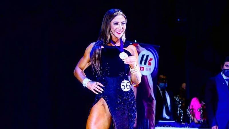 """""""Luli"""" tras primer lugar en Torneo Nacional de Fitness: """"En mi mente no existen los obstáculos"""""""