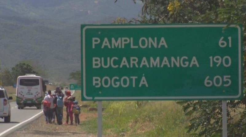 [VIDEO] T13 en Cúcuta: el punto de partida del viaje de venezolanos por Sudamérica