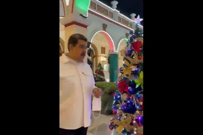Tal como en 2020: Nicolás Maduro vuelve a adelantar la Navidad para octubre en Venezuela
