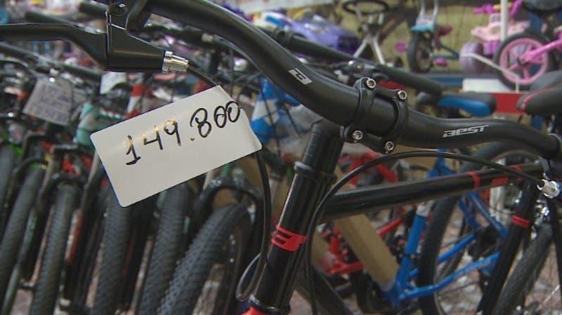 [VIDEO] Precio de las bicicletas acumula alza de casi 23%