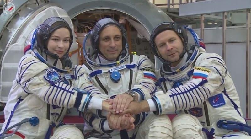 [VIDEO] Rusia inicia rodaje de primera película en el espacio
