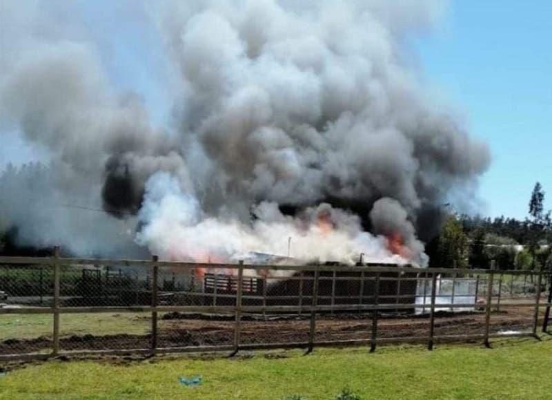 Ataques incendiarios y cortes de ruta en distintos puntos de la provincia de Arauco