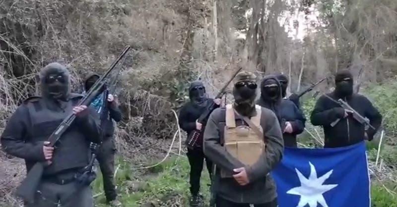 """Grupo armado se toma Reserva Nacional Malleco y dicen que resistirán """"actos violentos"""" del Estado"""