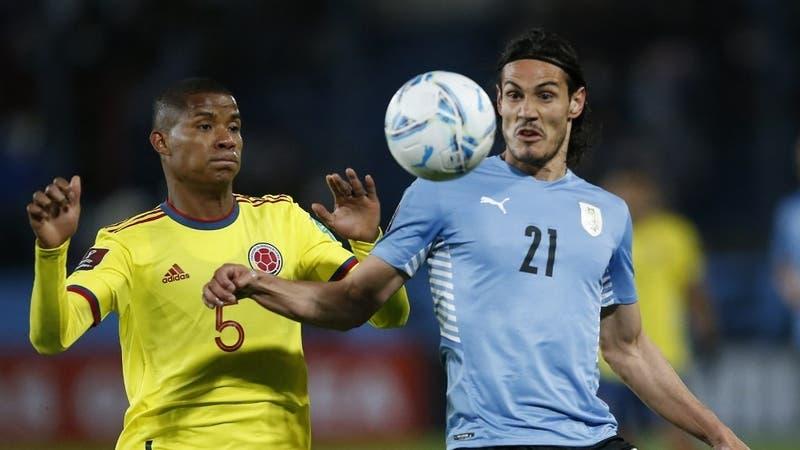 Le sirve a Chile: Uruguay y Colombia empatan sin goles en intenso partido por las Clasificatorias