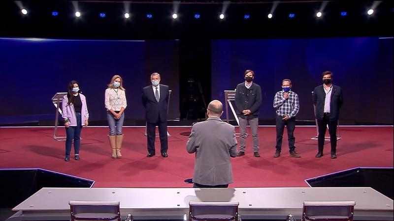 Orden de los candidatos en el próximo debate presidencial