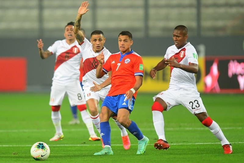 No estuvo preciso: Alexis Sánchez sorprende con opaco registro en la derrota de Chile frente a Perú
