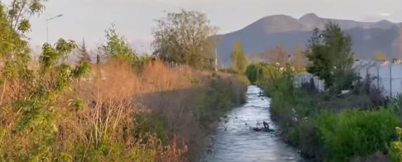 Abuelo y nieto mueren ahogados al caer a un canal en Rancagua