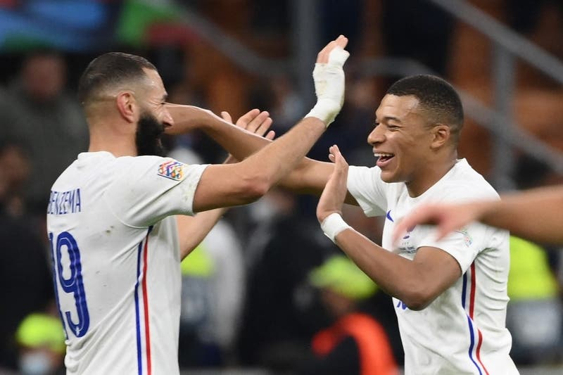 Con Benzemá y Mbappé de figuras, Francia venció a España y se quedó con la Liga de Naciones
