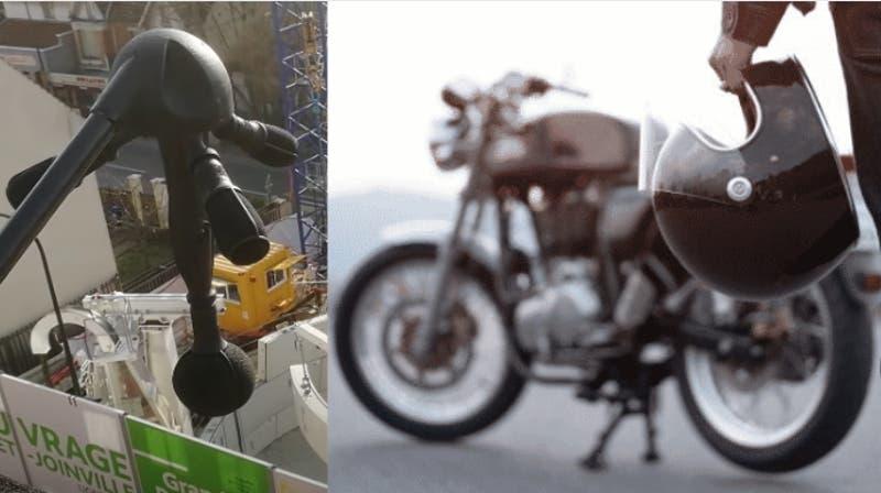 Francia instalará radares de sonido para multar a motoqueros que hagan mucho ruido